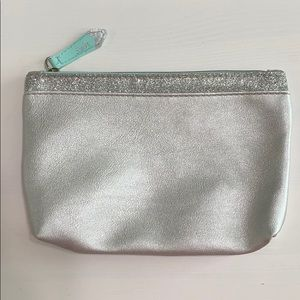FREE WITH PURCHASE Silver ipsy Cosmetic Bag